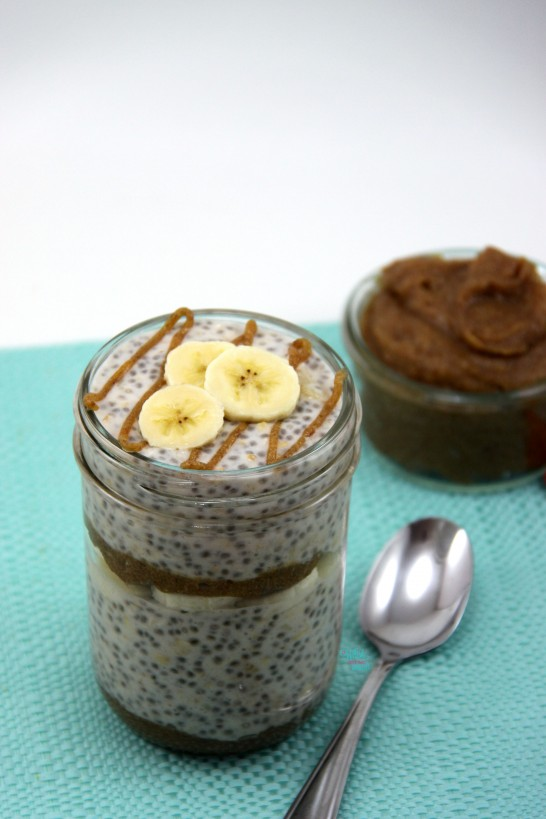 Caramel Banana Overnight Oats