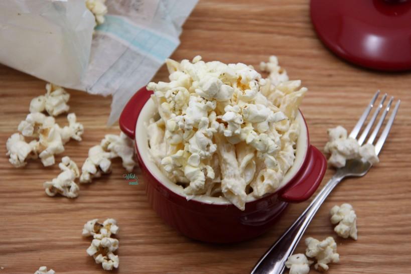 Popcorn Protein Mac N Cheese