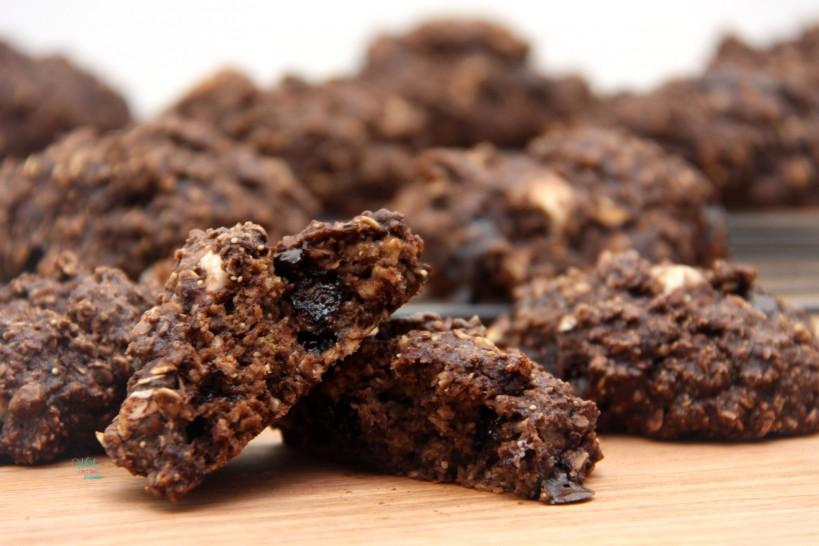Chocolate Brownie Smore Cookies