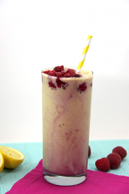 Lemon Raspberry Shake