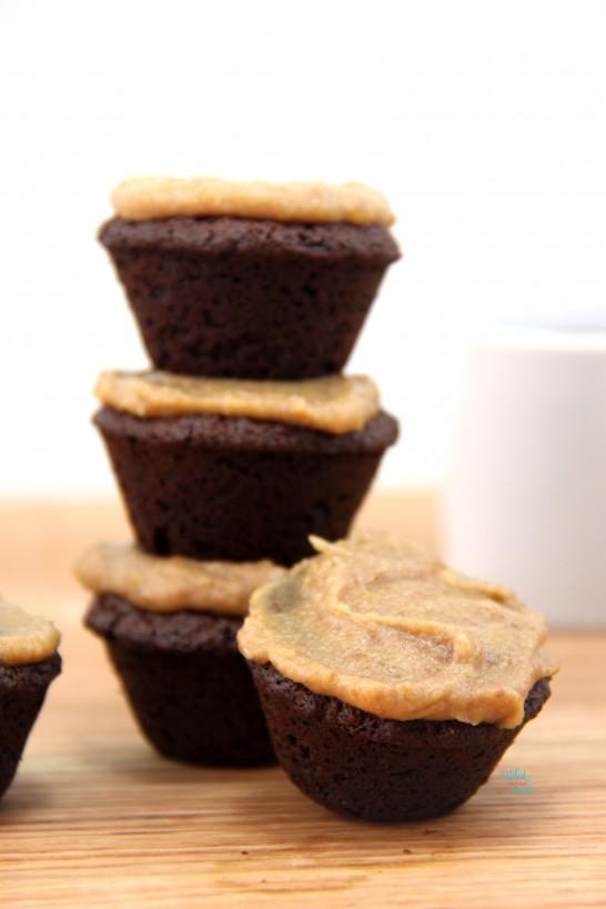 Caramel Mocha Protein Brownie Bites