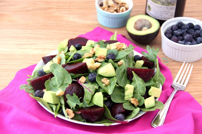 ABB (Avocado Blueberry Beet) Salad