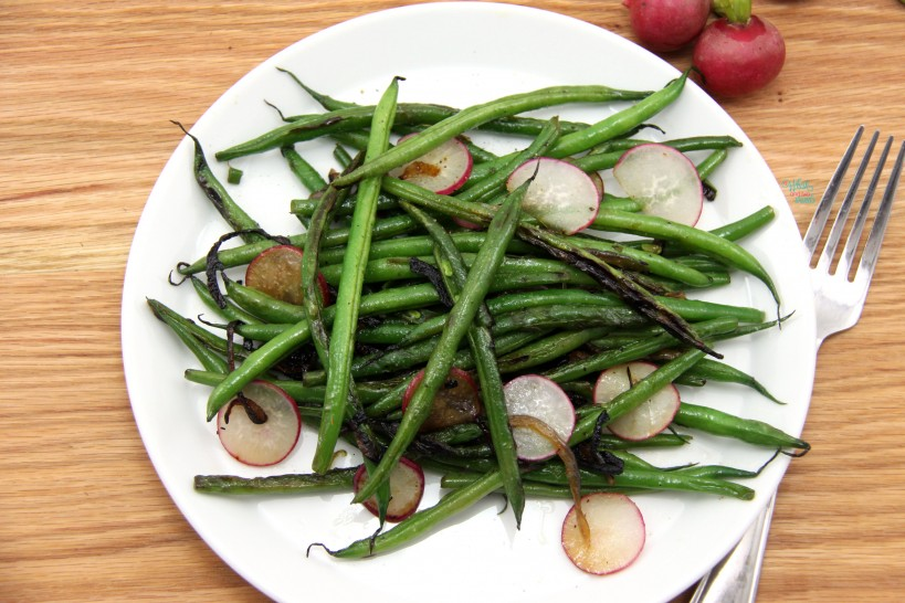 Green Bean and Caramelized Onion Salad