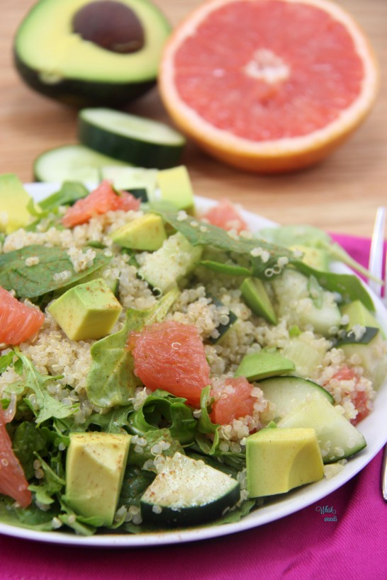 Sun-sational Grapefruit and Avocado Summer Salad