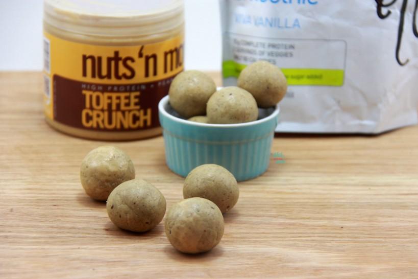 Toffee Crunch Protein Power Balls