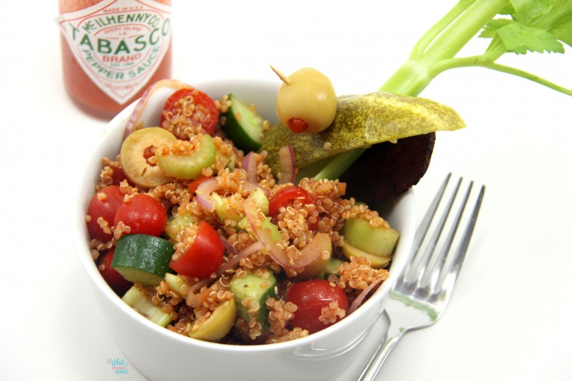 Bloody Mary Quinoa Salad