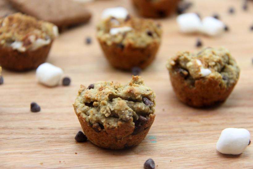 S'more Mini Muffin Bites