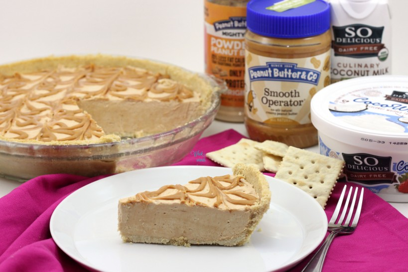 Peanut Butter and Cracker Pie