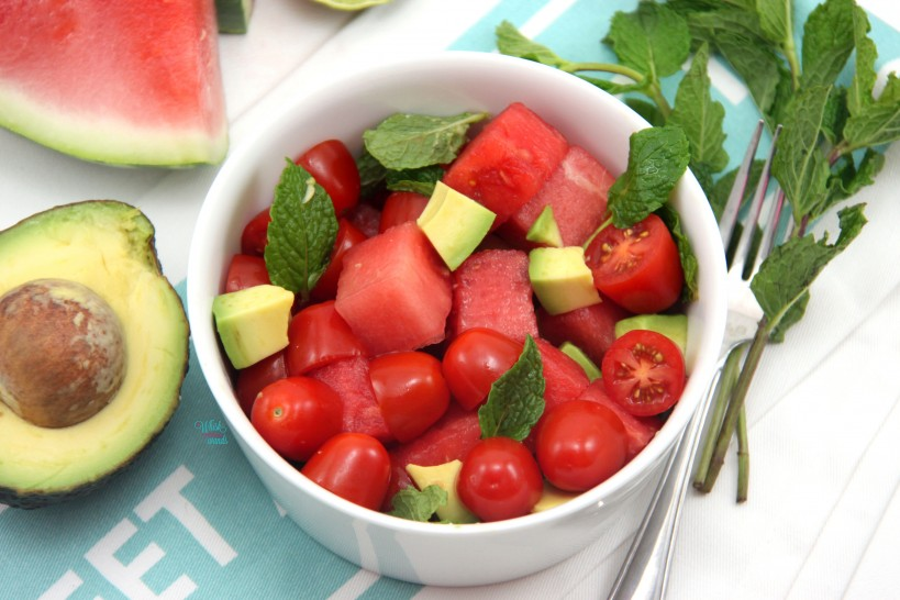 Tomato Watermelon Salad