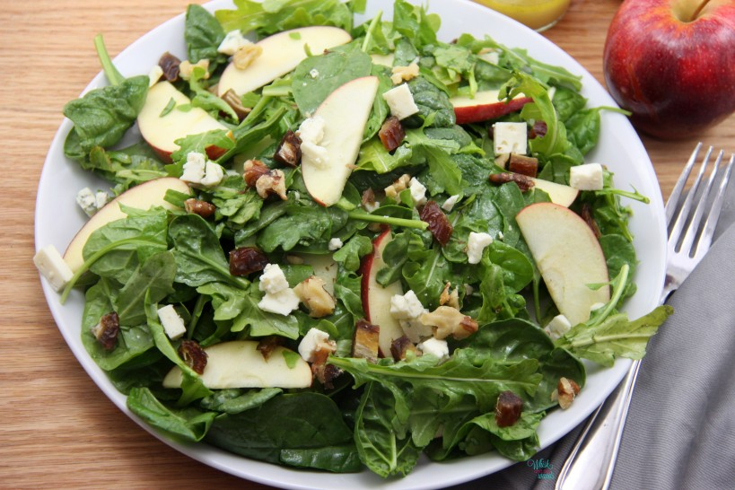 Apple Date Salad
