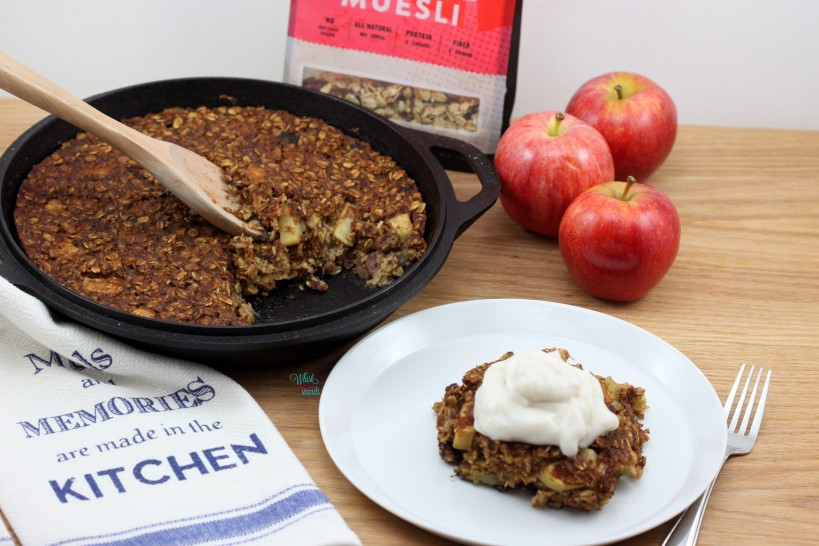 Easy as Apple Pie Cherry Muesli Bake