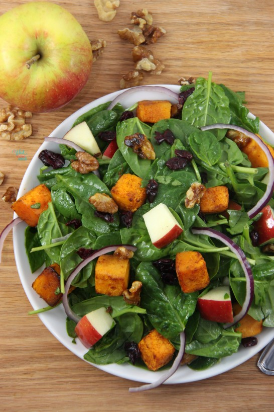 Butternut Squash Apple Salad