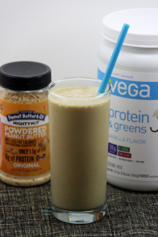 Fluffernutter Protein Shake (light version)
