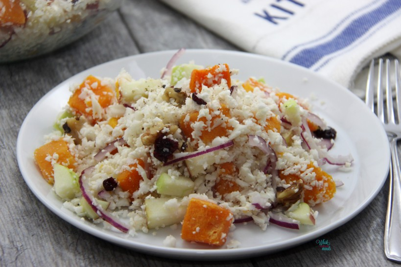 Cornucopia Cauliflower Salad