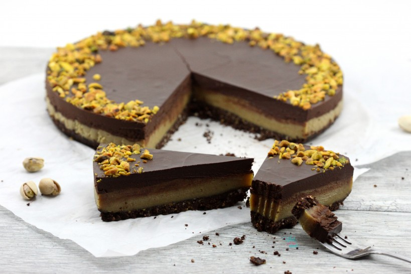 Perfectly Perfect Pistachio Chocolate Tart (vegan, gluten free and grain free)