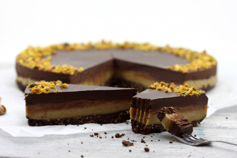 Perfectly Perfect Pistachio Chocolate Tart (vegan, gluten free and grain free)