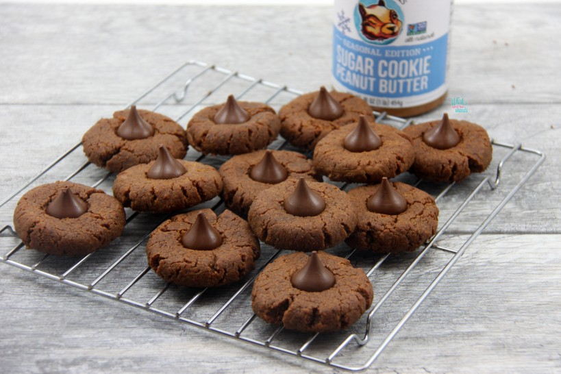 Peanut Butter Sugar Kiss Cookies