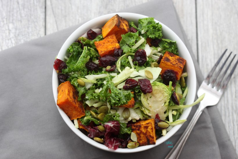Sweet Potato Kale Superfood Salad