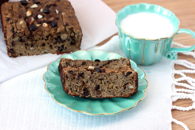Coffee Crunch CocoNUT Banana Bread