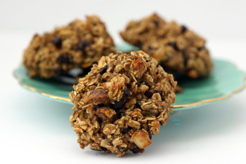 Cranberry Pecan Muesli Cookies