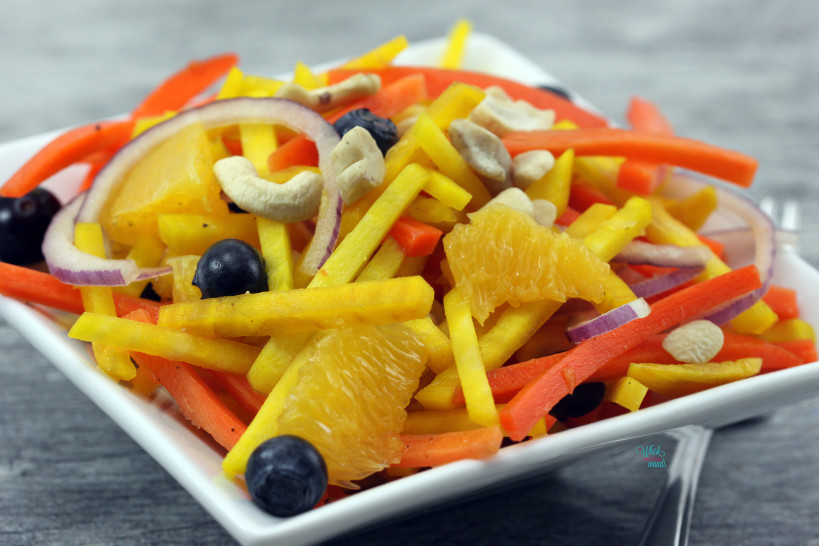 Bright & Beautiful Golden Beet Salad