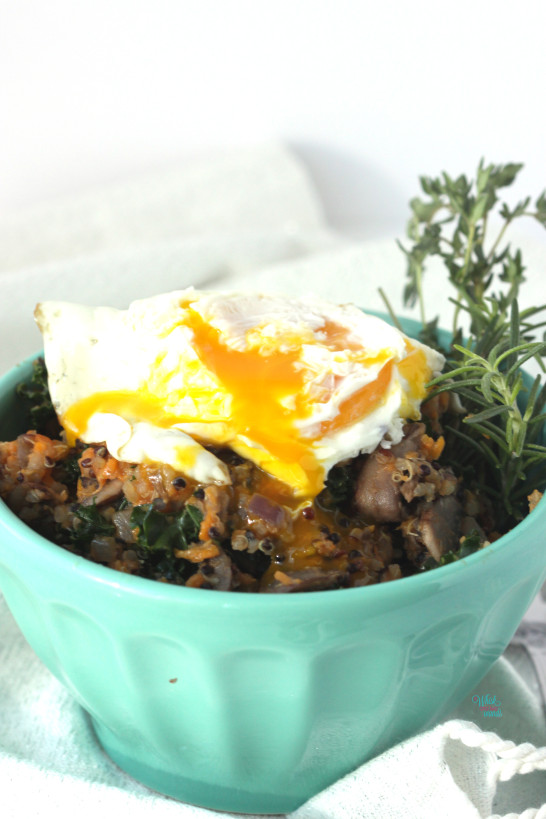 Savory Sweet Potato Porridge