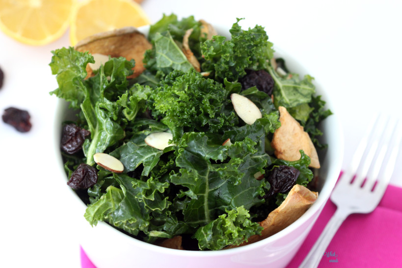 Cherry Apple Kale Salad