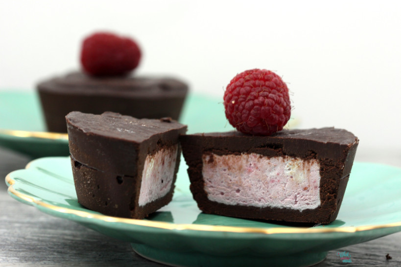 Chocolate Raspberry Cream Cups