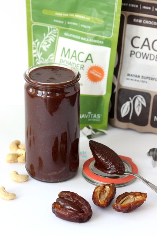 Maca Cacao Cashew Butter
