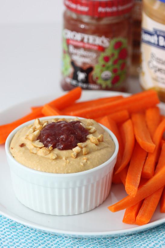 PB&J Hummus