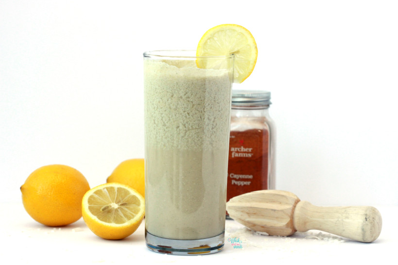 Kickin' Lemon Coconut Smoothie