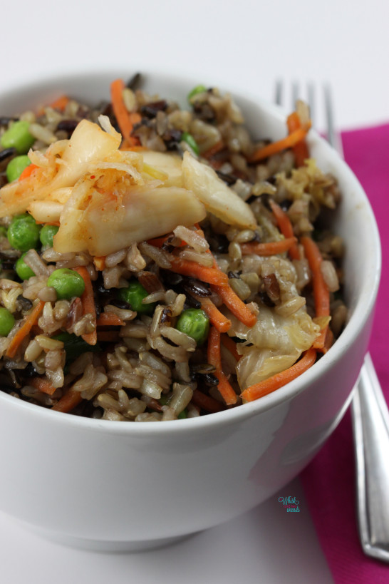 Kimichi Fried Wild Rice