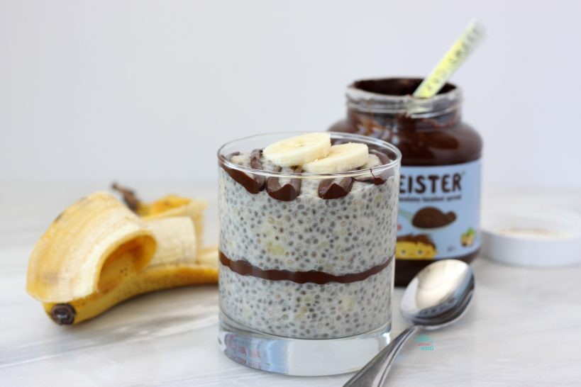 Banana Chocmeister Chia Cups (vegan and gluten free)