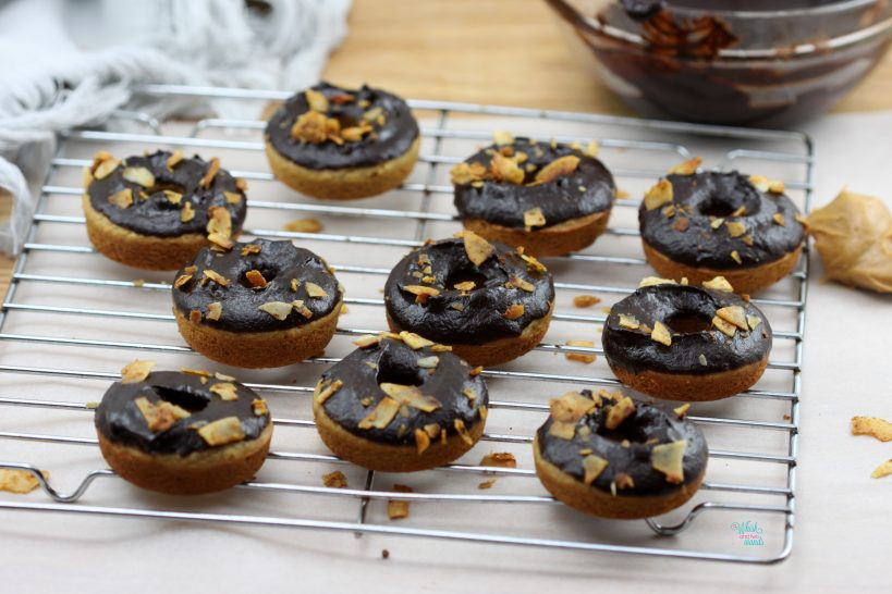 Elvis Mini Protein Donuts (vegan and gluten free)