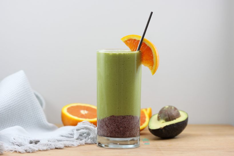 Tropical Acai Chia Green Smoothie