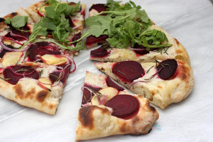 Apple Beet Arugula Pizza