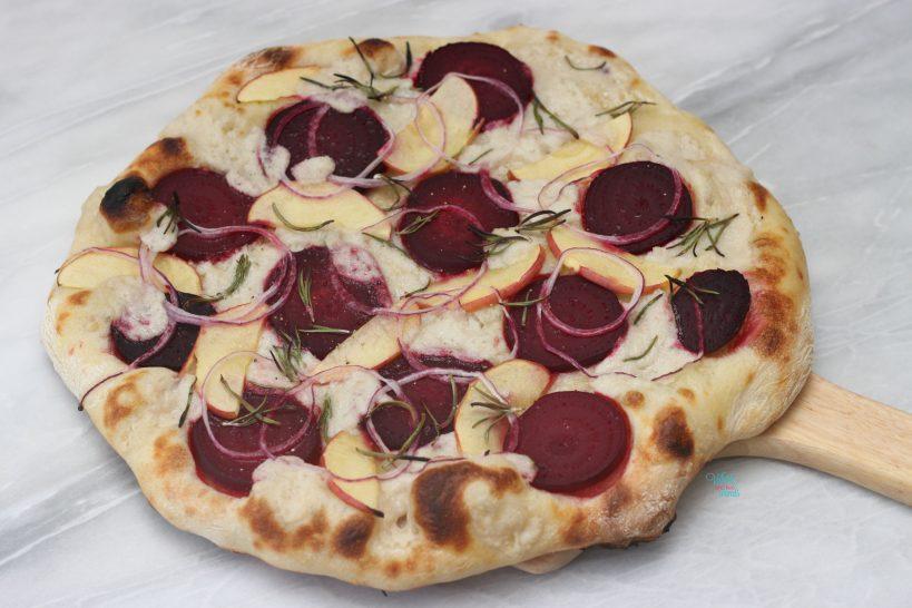 Apple Beet Pizza