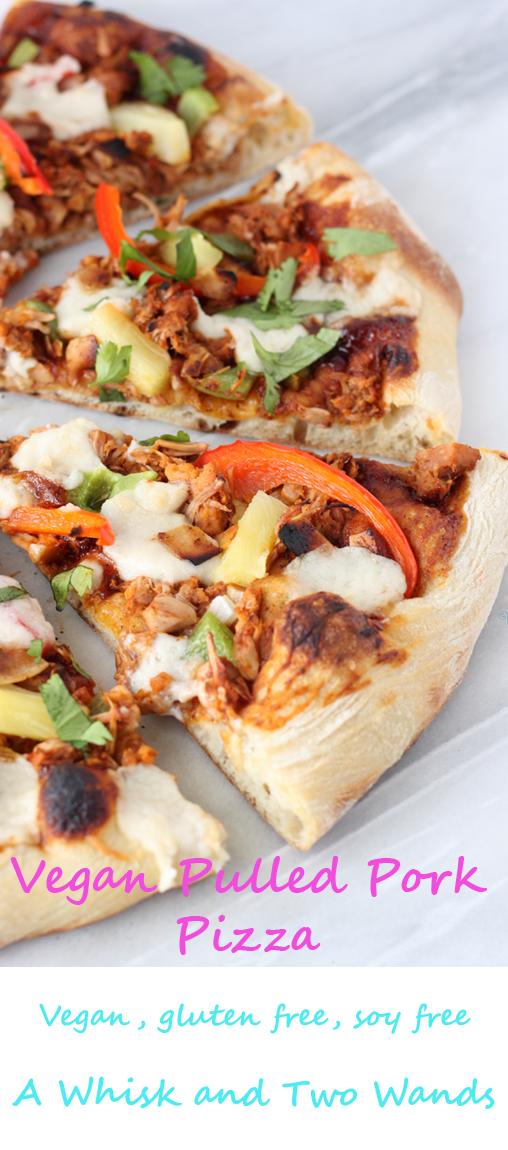 Vegan Pulled Pork Pizza copy
