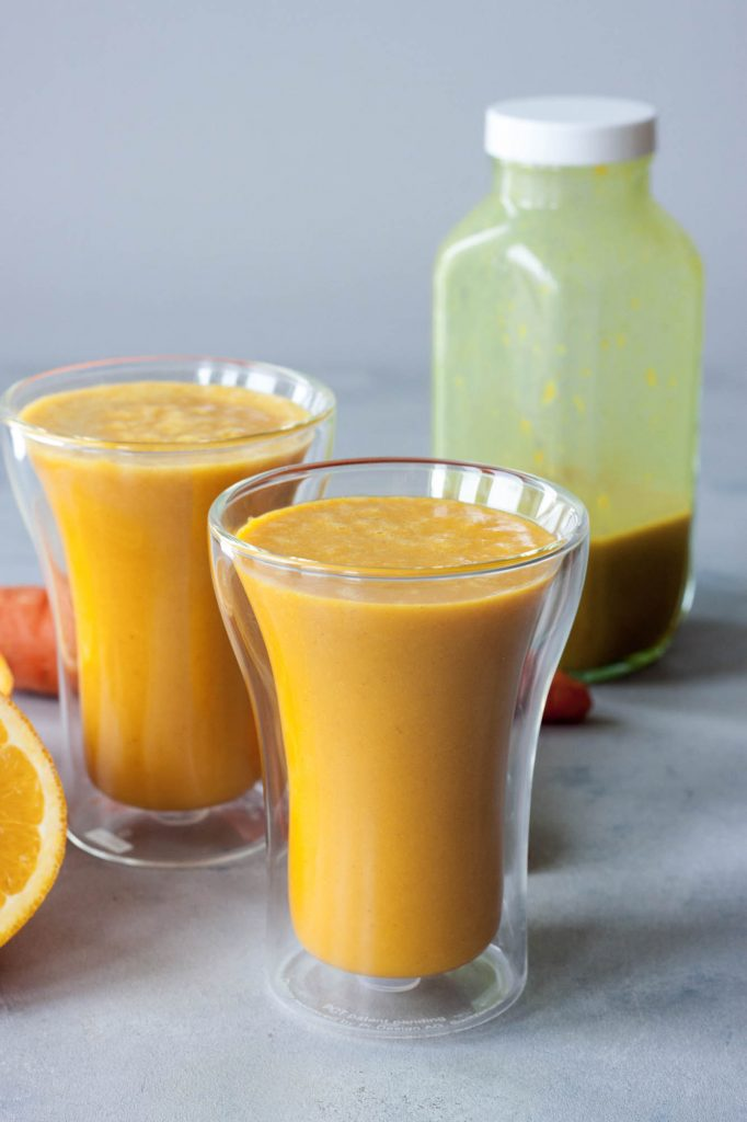 A Whisk and Two Wands, Turn Up The Turmeric Smoothie