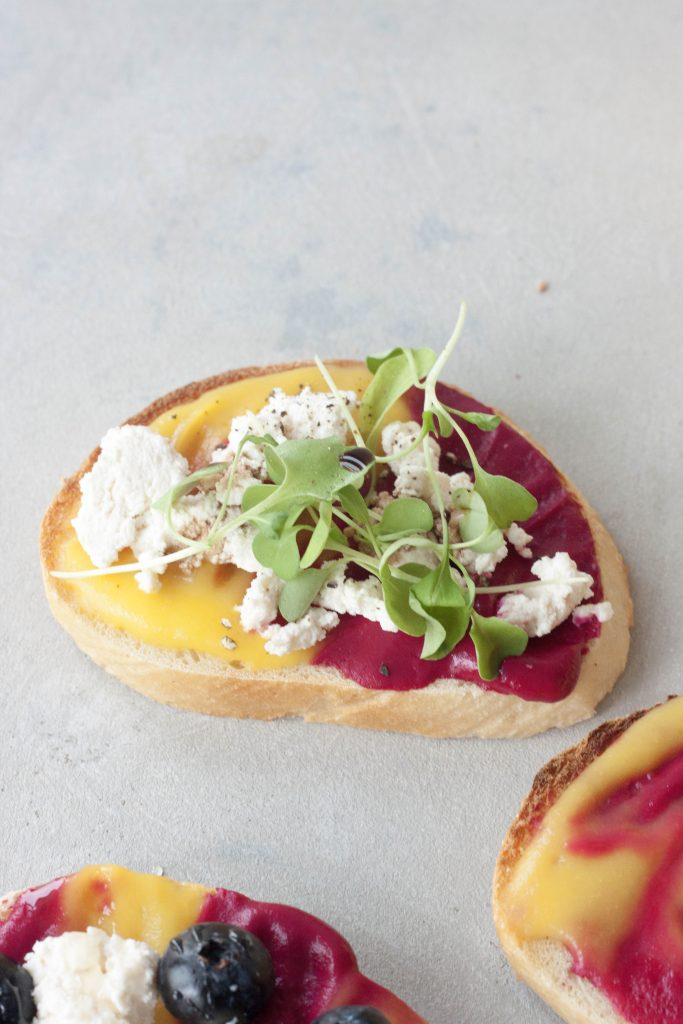 Beet Spread and Beetiful Toast, A Whisk and Two Wands