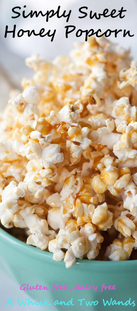 Simply Sweet Honey Popcorn