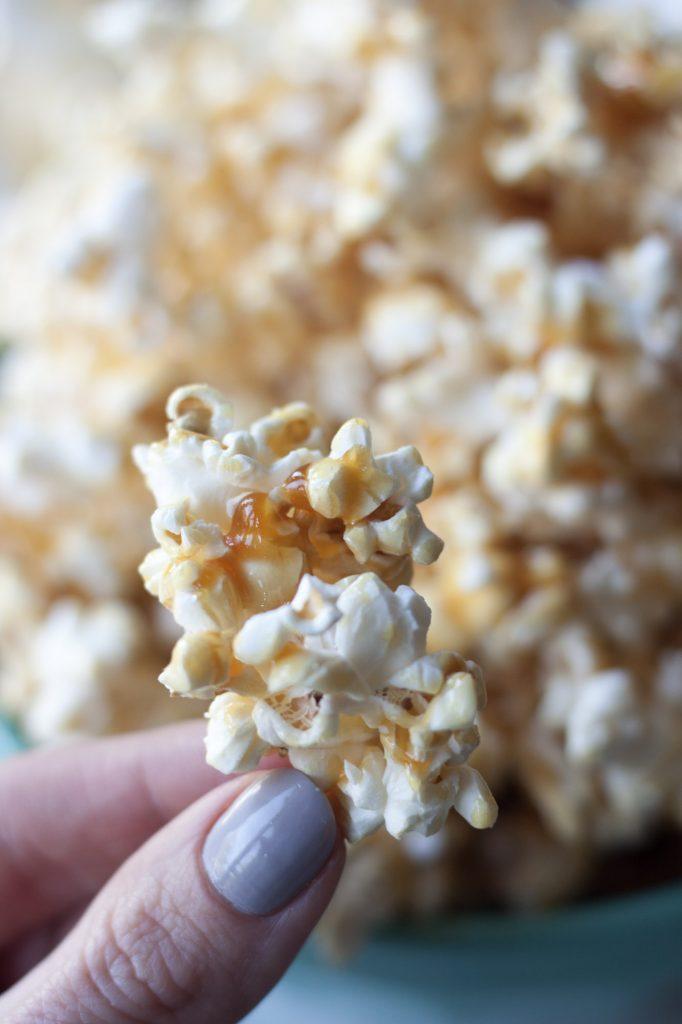 Simply Sweet Honey Popcorn