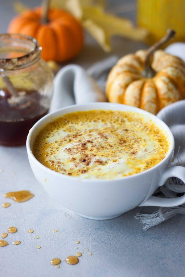 Pumpkin Spice Turmeric Latte