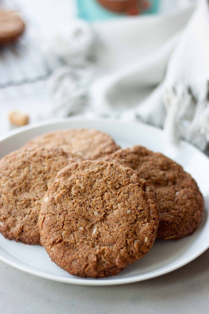 Toasted Coconut Toffee Cookies