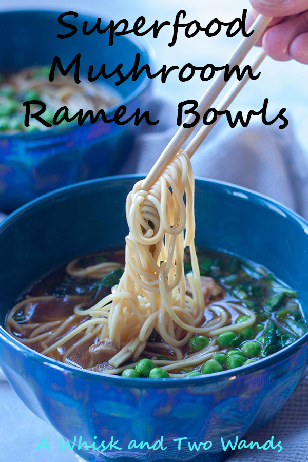 Superfood Mushroom Ramen Bowls