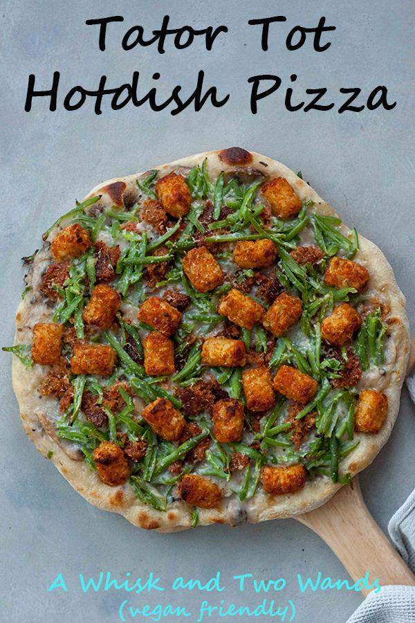 Tator Tot Hotdish Pizza