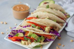 Vegan Thai Tacos