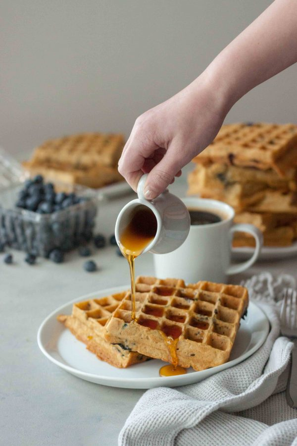 Maple Syrup Waffles