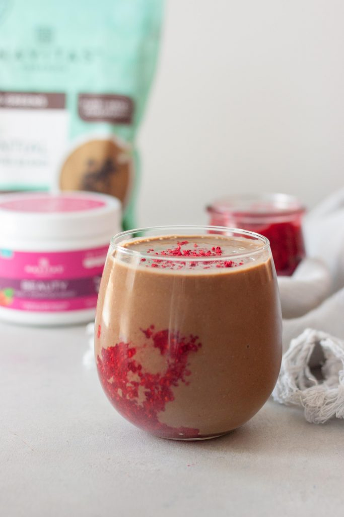 Chocolate Berry Smoothie Superfoods