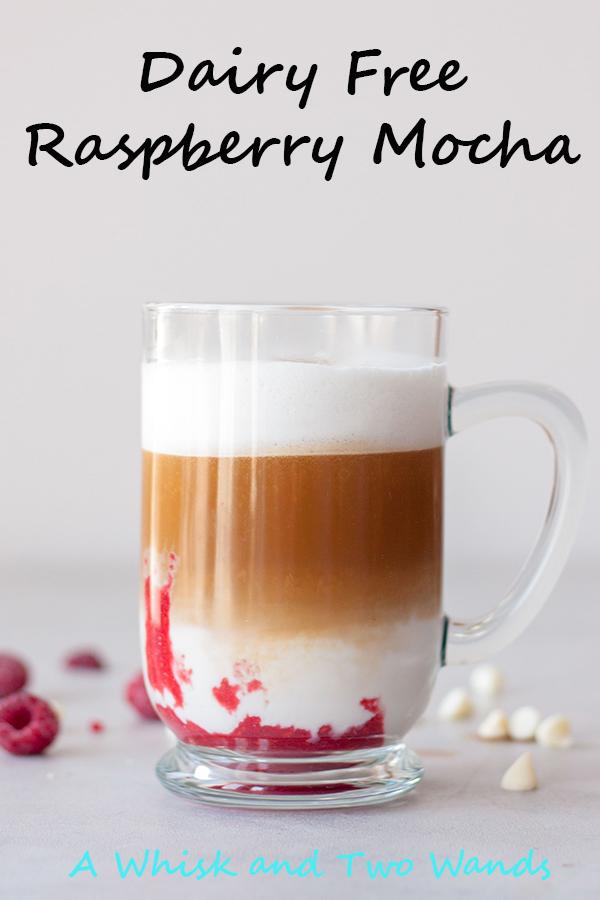 Dairy Free Raspberry Mocha